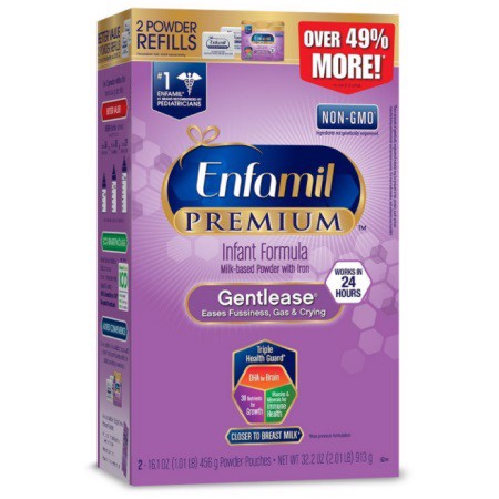 Enfamil PREMIUM Gentlease Milk-Based Powder 913g