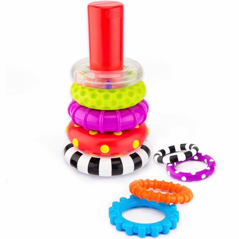 Đồ chơi Sassy Stacks of Circles Stacking Ring