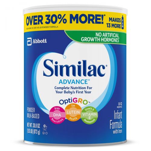 Similac Advance Infant Formula Powder 873g