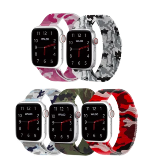 Dây Apple Watch dòng Camo Magnetic Mesh Band