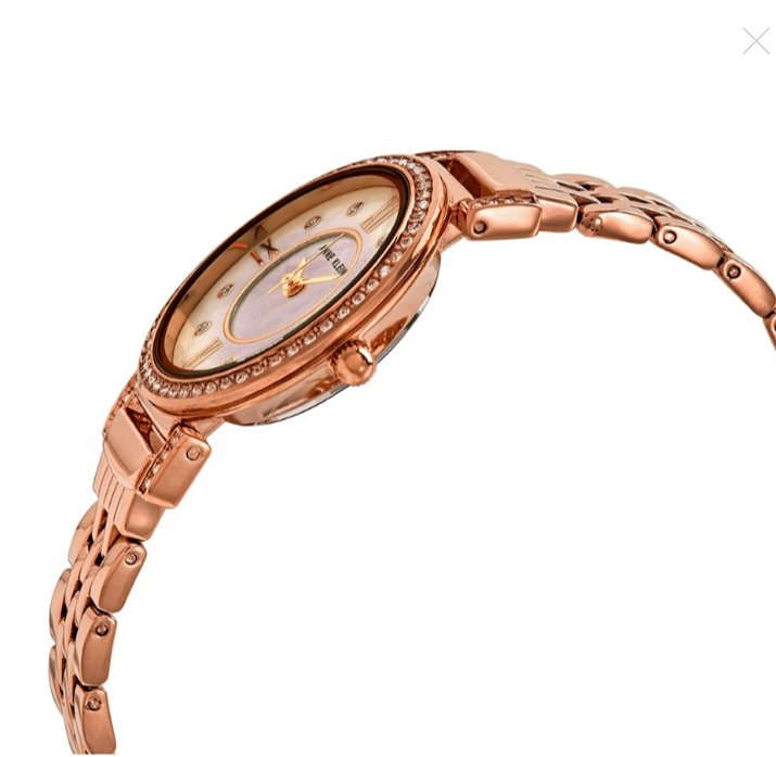 Đồng hồ nữ Anne Klein Blush Mother of Pearl Crystal Dial