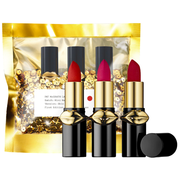 Set son Pat McGrath Lust Mini MatteTrance™ Lipstick Trio