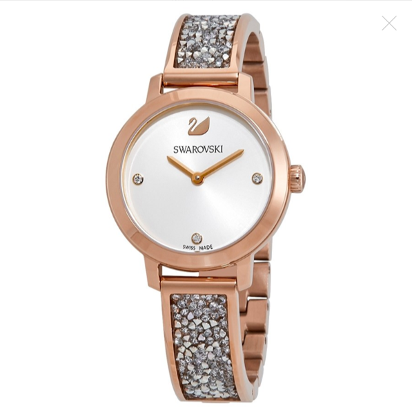 Đồng hồ nữ Swarovski Rock Bangle Crystal Watch