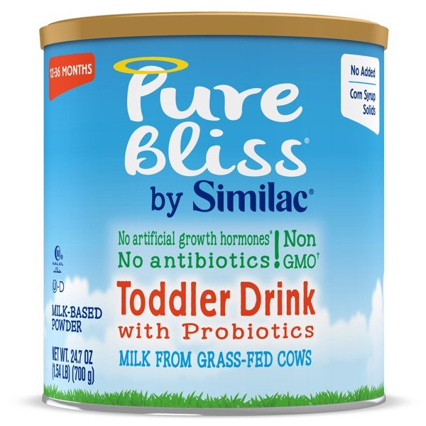 Pure Bliss by Similac Toddler Drink with Probiotics Non-GMO Toddler Formula 700g