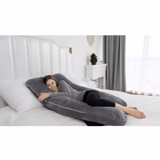 Gối nằm cho mẹ QUEEN ROSE Pregnancy Pillow  with Velvet Cover