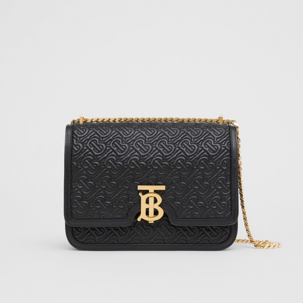 Túi nữ Burberry Medium Quilted Monogram Lambskin TB Bag