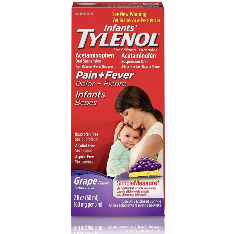 Infants' Tylenol Acetaminophen Liquid Medicine
