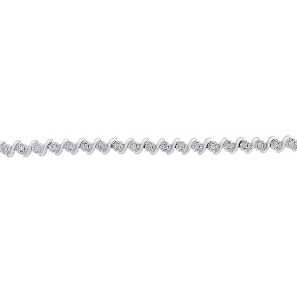 Vòng tay 1/2 Carat Natural Diamond Bracelet
