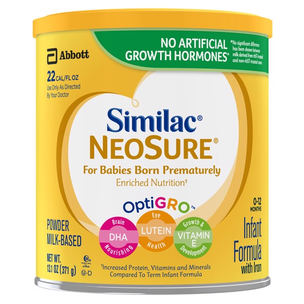 Similac Neosure Baby Formula, For Babies Born Prematurely 371g