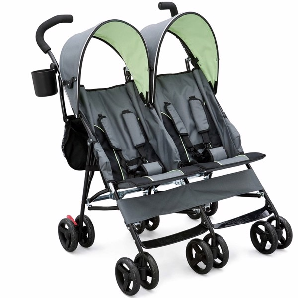 Xe đẩy Delta Children LX Side by Side Tandem Umbrella