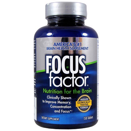 Viên Uống Focus Factor Nutrition For The Brain