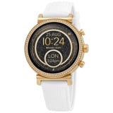 Đồng hồ unisex Michael Kors Access Gen 4 Runway Silicone Strap Touchscreen Smartwatch