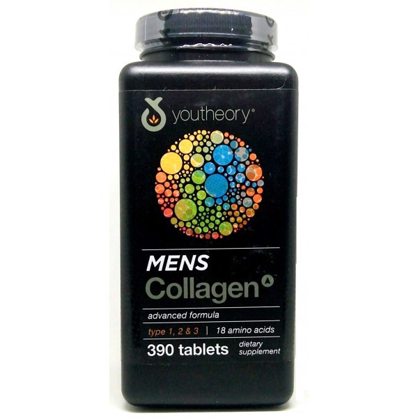 Collagen Youtheory Men's Type 1, 2 & 3
