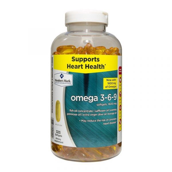 Omega 3 6 9 Member's Mark Supports Heart Health