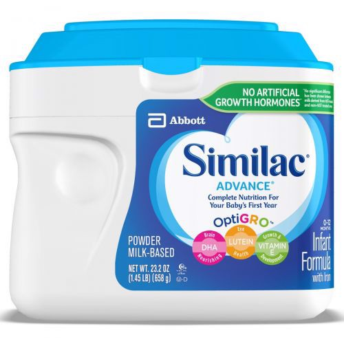 Similac Advance Infant Formula Powder 658g