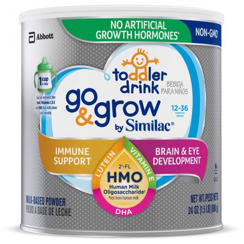 Similac Go & Grow NON-GMO Milk-Based Toddler 680g