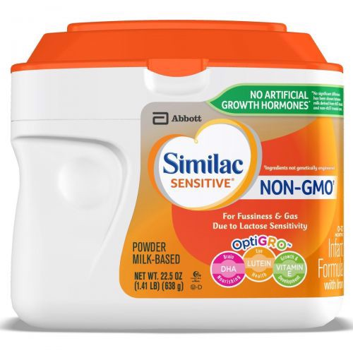 Similac Sensitive NON-GMO Infant Formula Powder 638g