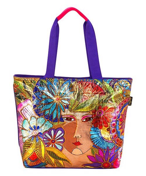 Túi nữ Laurel Burch Large Tote With Cotton