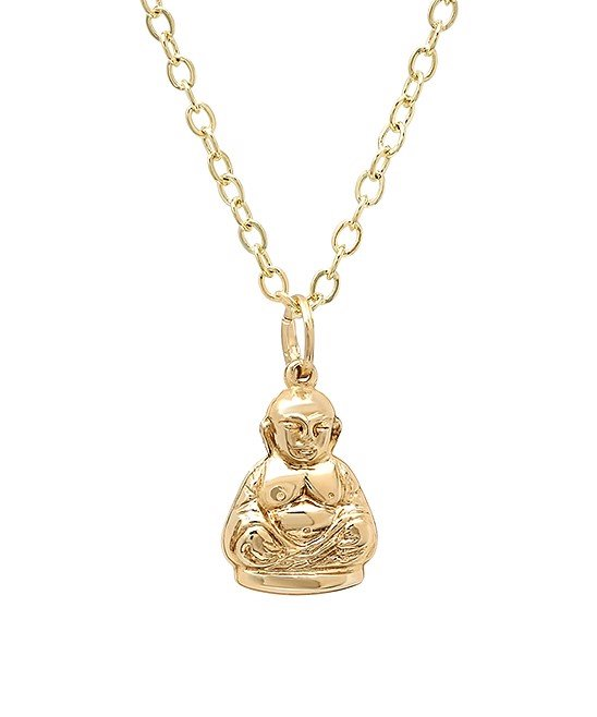 Gold Buddah Necklace