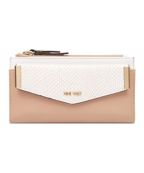 Ví nữ Nine West Barely Nude Snake-Embossed