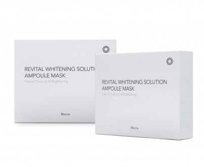 Mặt nạ vàng REVITAL WHITENING SOLUTION AMPOULE MASK