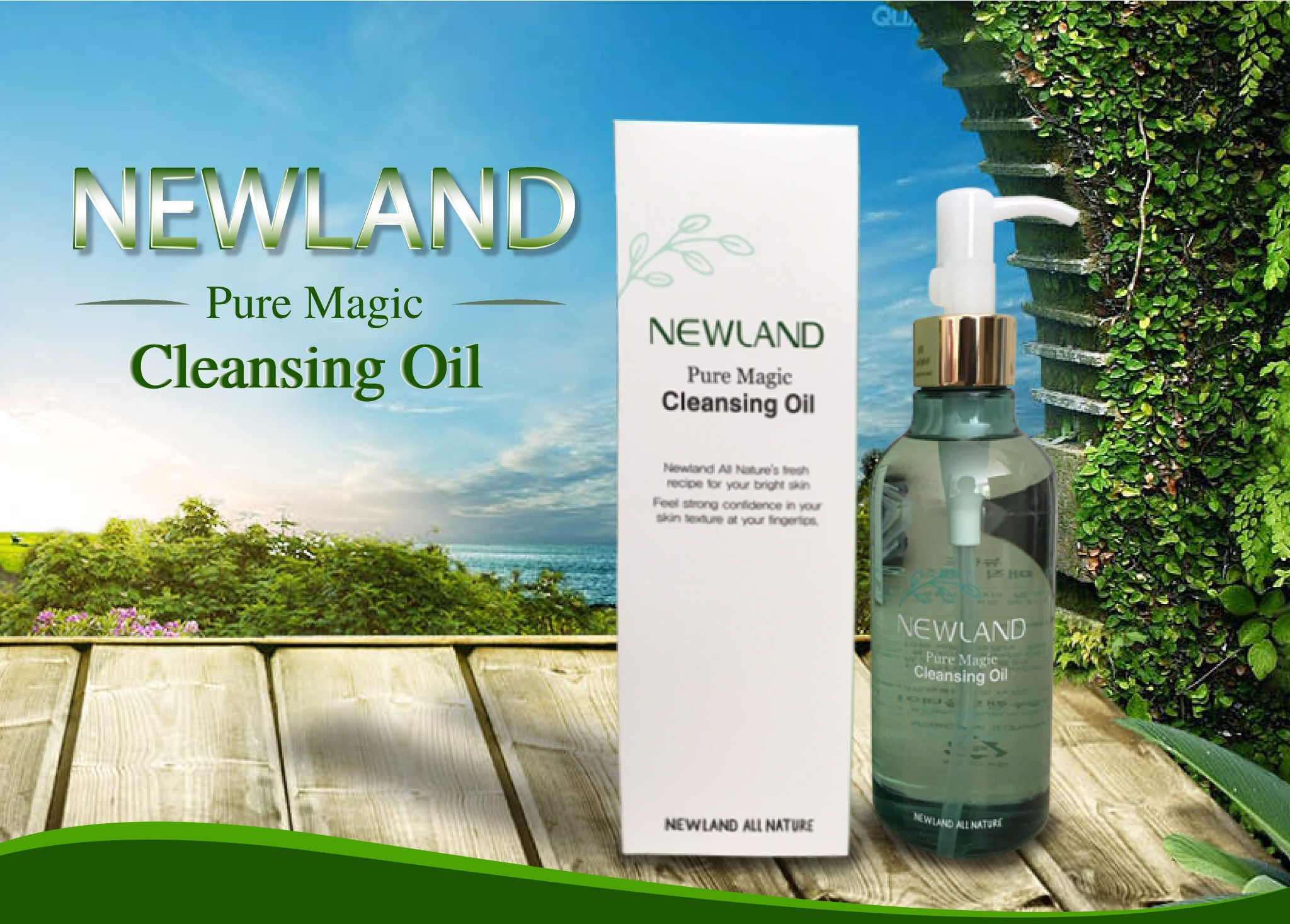 Dầu Tẩy Trang Newland Pure Magic Cleansing Oil