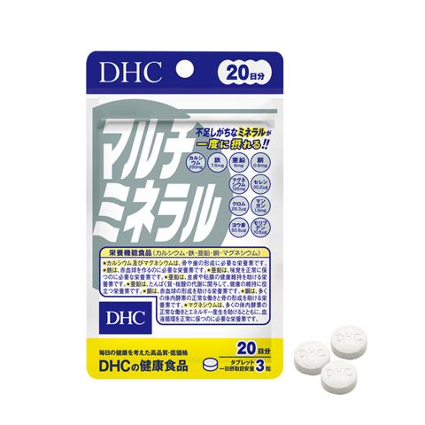 Viên uống khoáng tổng hợp DHC Multi Minerals