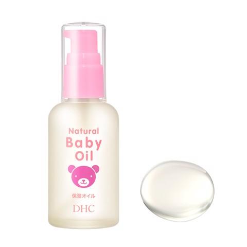 Dầu dưỡng da trẻ em DHC Natural Baby Oil 60ml