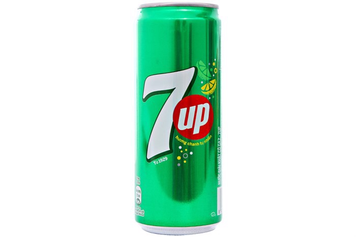 Nước ngọt 7Up lon sleek 330ml