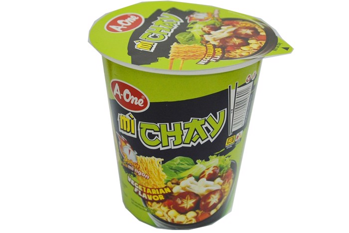 Mì ly Chay A-One 65g