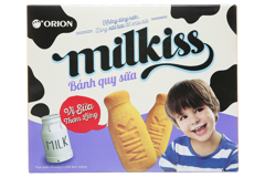 Bánh quy sữa Milkiss Orion hộp 120g