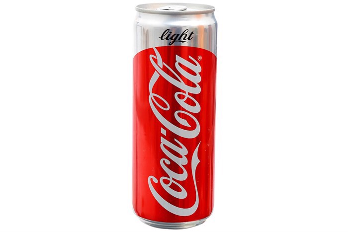 Nước ngọt Coca Cola Light lon sleek 330ml