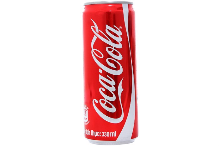 Nước ngọt Coca Cola lon sleek 330ml