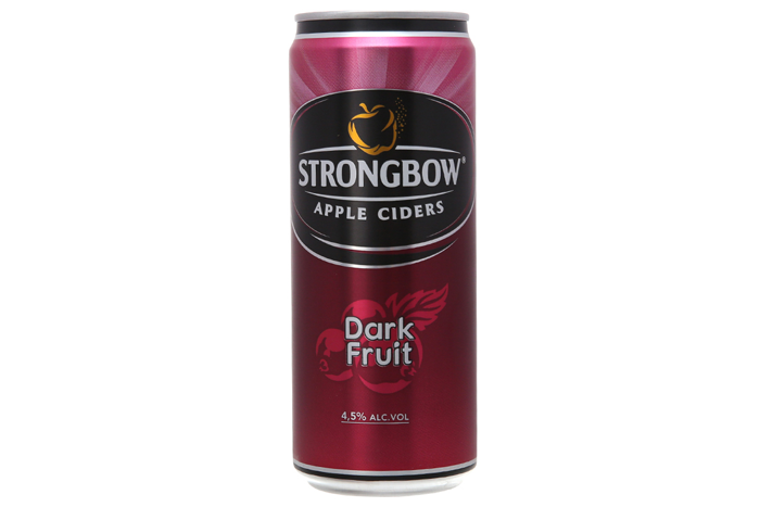 Nước táo lên men Strongbow Dark Fruit lon 330ml