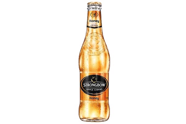 Nước táo lên men Strongbow Honey chai 330ml