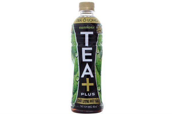 Trà Ô long Tea+ Plus chai 455ml