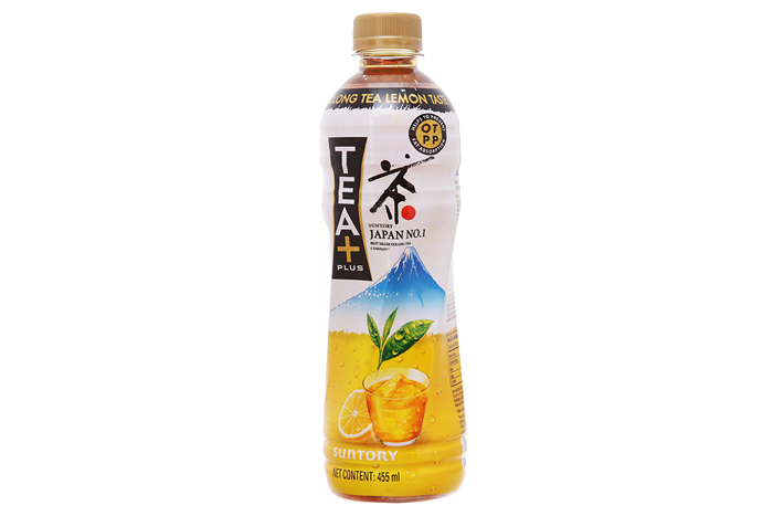 Trà ô long Tea Plus Vị chanh 455ml