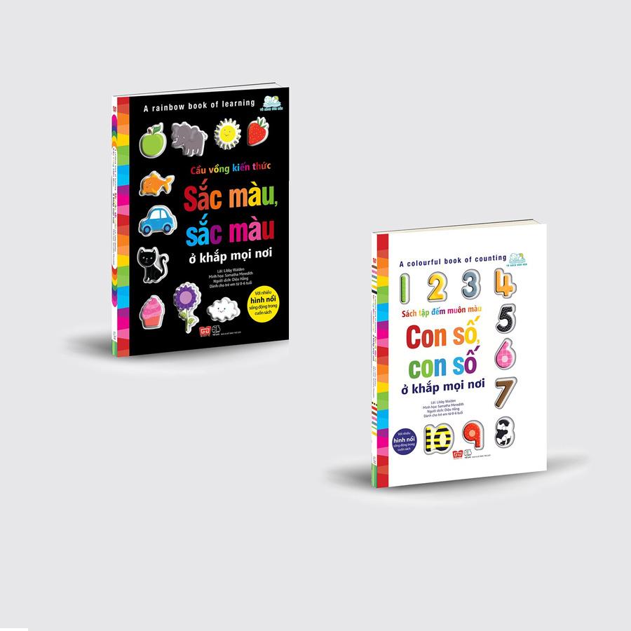 Set sách Sách tập đếm muôn màu & Cầu vồng kiến thức