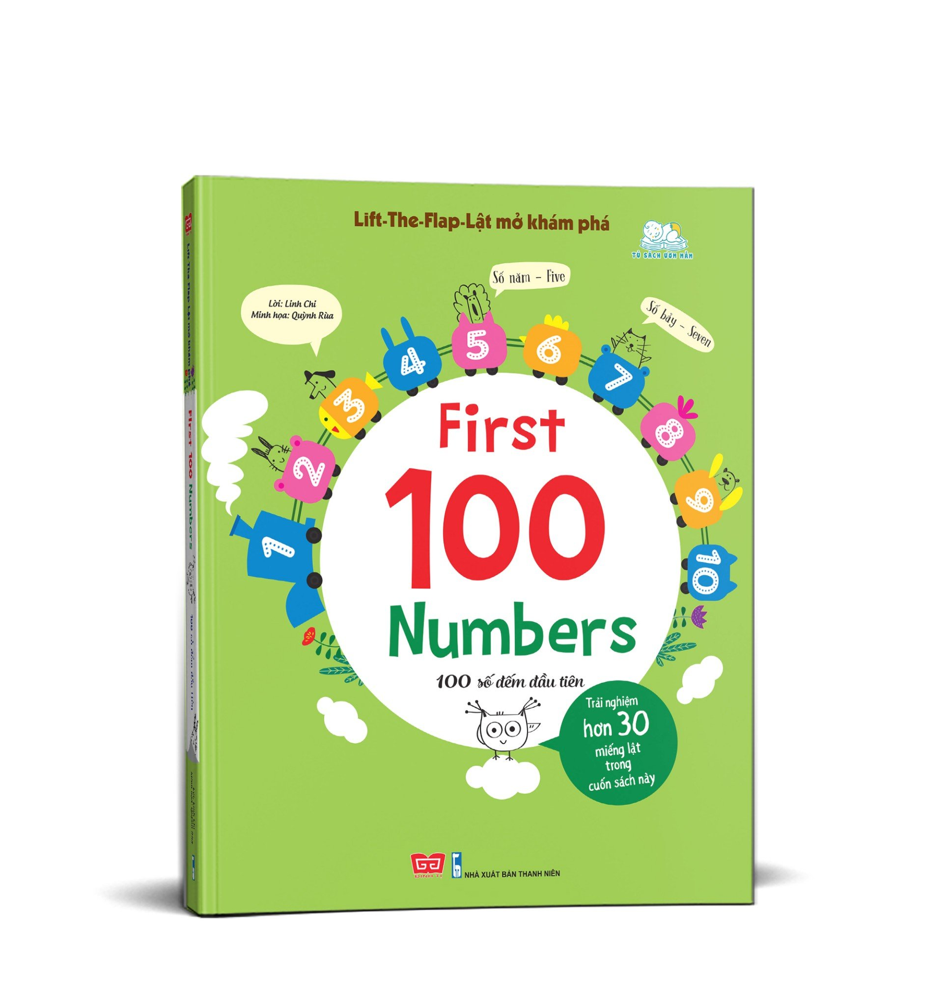 Sách tương tác - Lift-The-Flap-Lật mở khám phá - First 100 Numbers - 100 số đếm đầu tiên