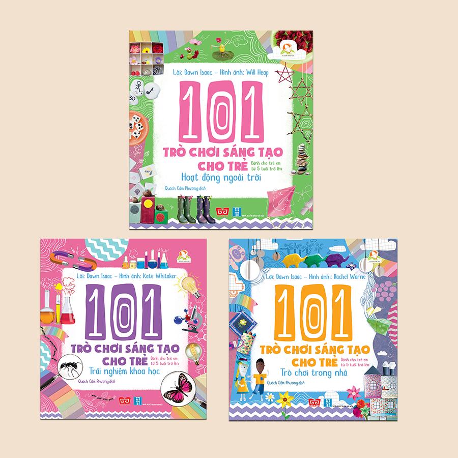 Combo: 101 trò chơi sáng tạo cho trẻ (3 tập)
