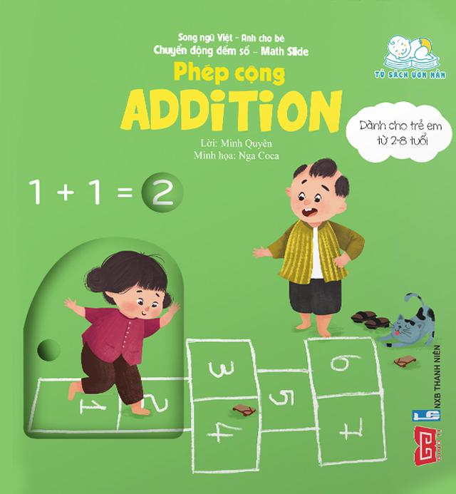 Chuyển động đếm số - Math slide - Phép cộng - Addition