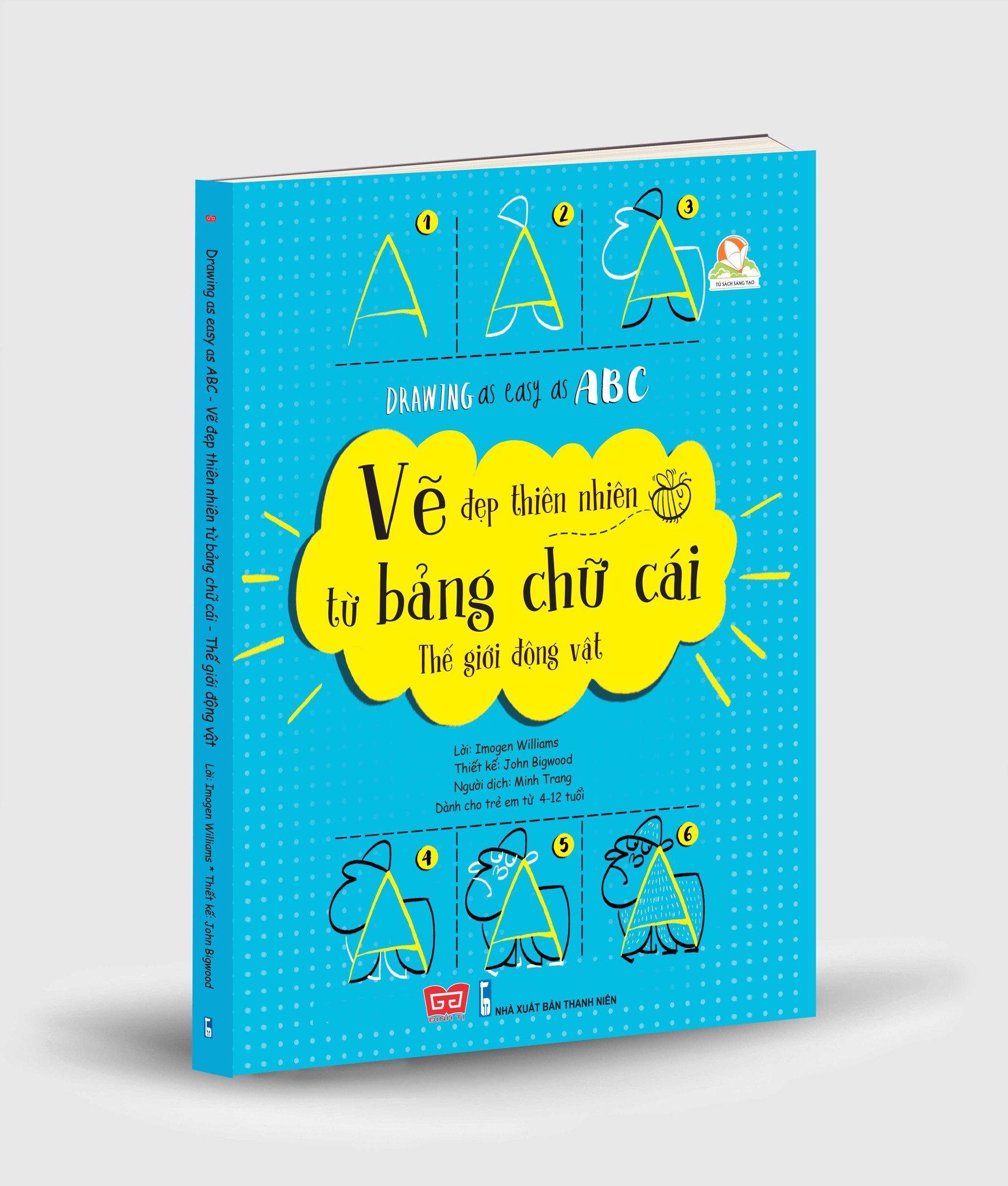 Drawing as easy as ABC - Vẽ đẹp thiên nhiên từ bảng chữ cái - Thế giới động vật