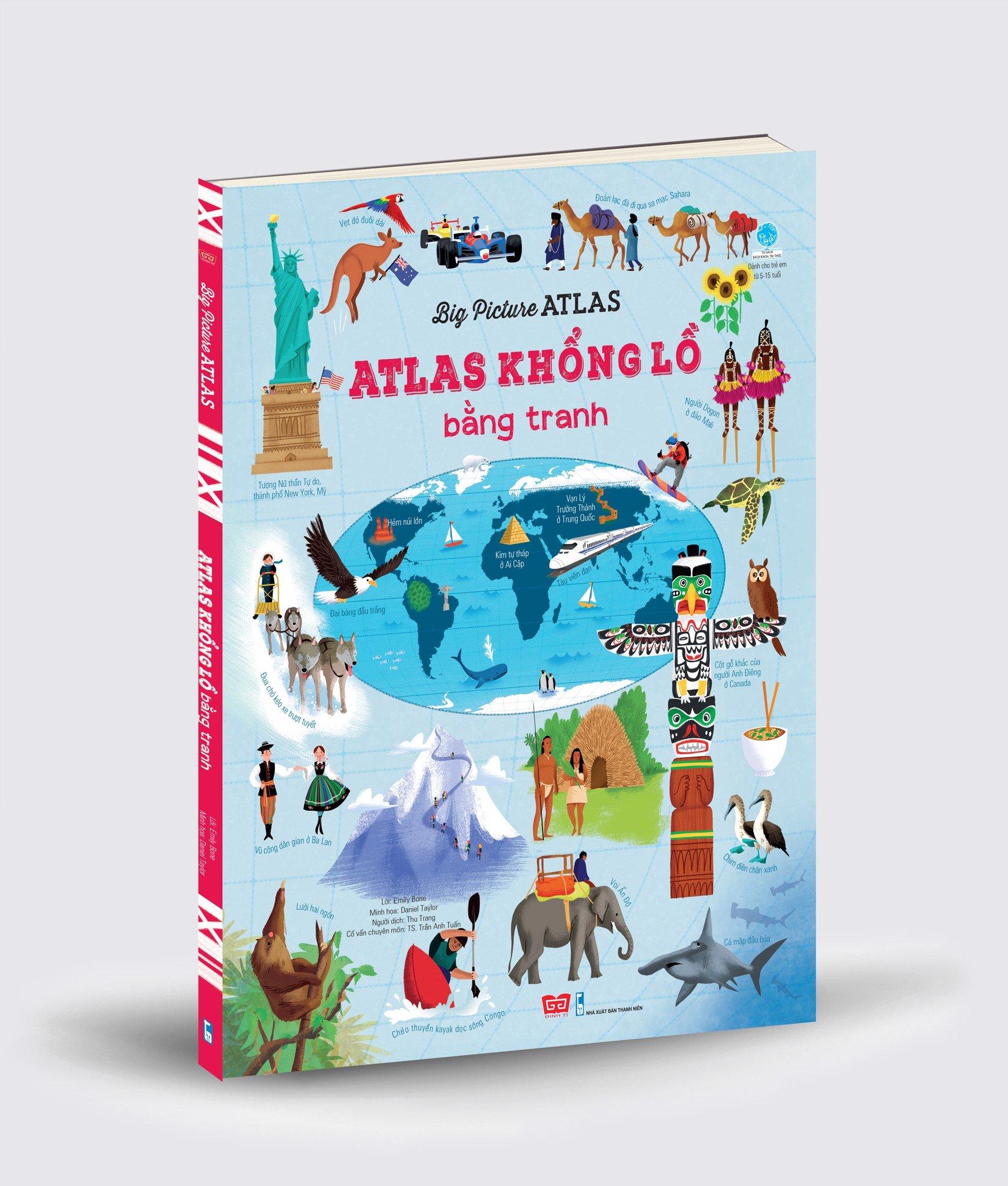 Big Picture Atlas - Atlas khổng lồ bằng tranh