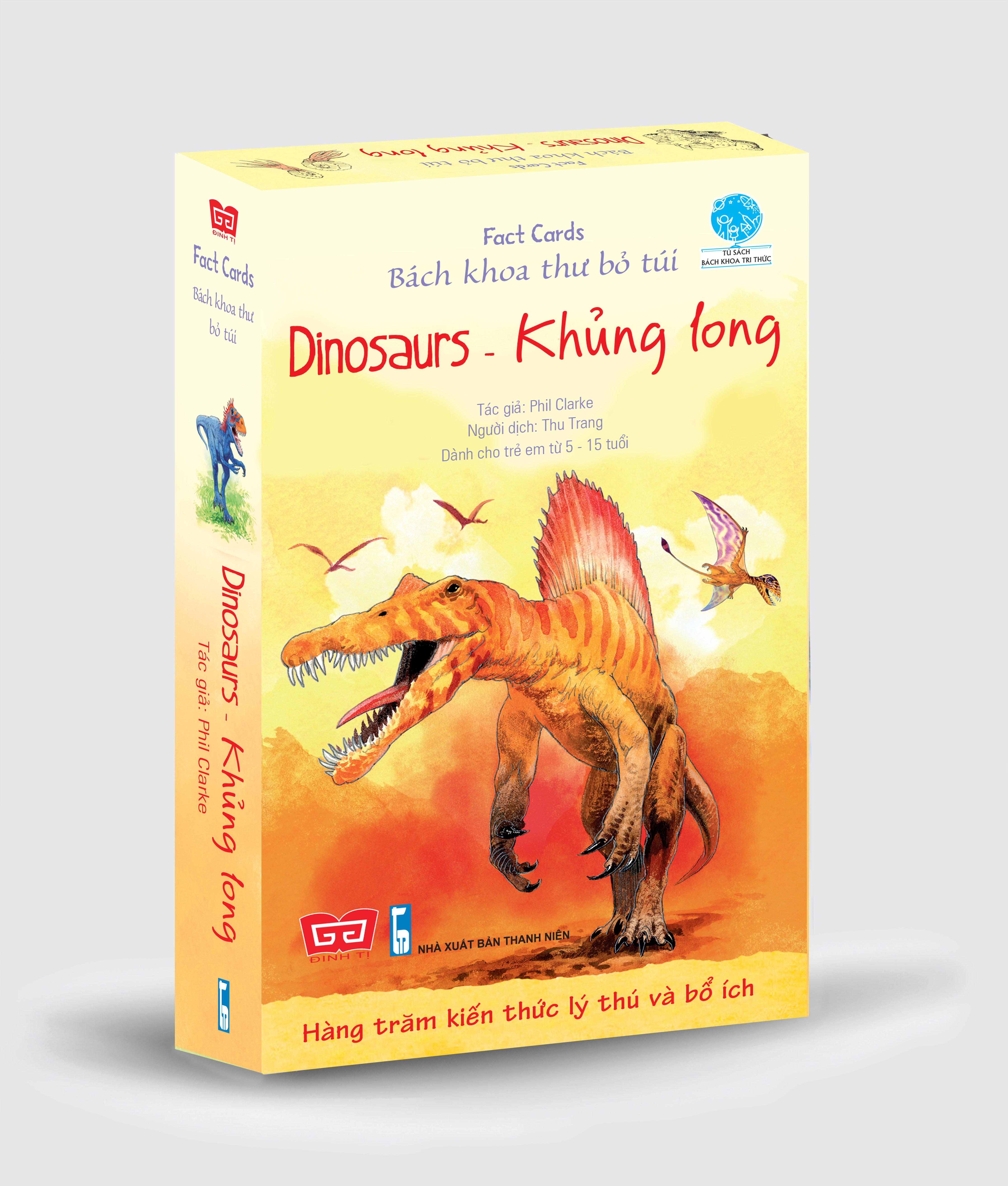 Fact cards - Bách khoa thư bỏ túi - Dinosaurs - Khủng long