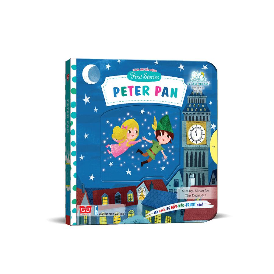 Sách chuyển động - First stories - Peter Pan