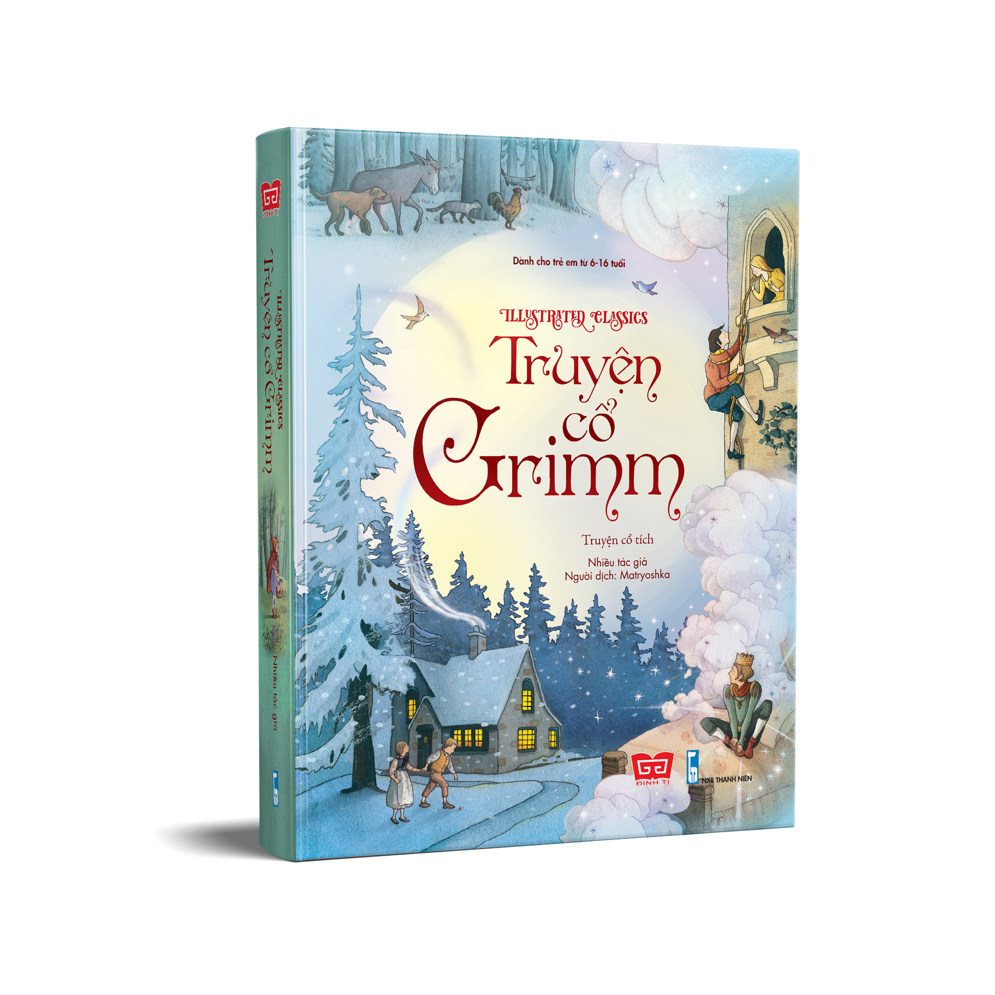 Illustrated Classics - Truyện cổ Grimm