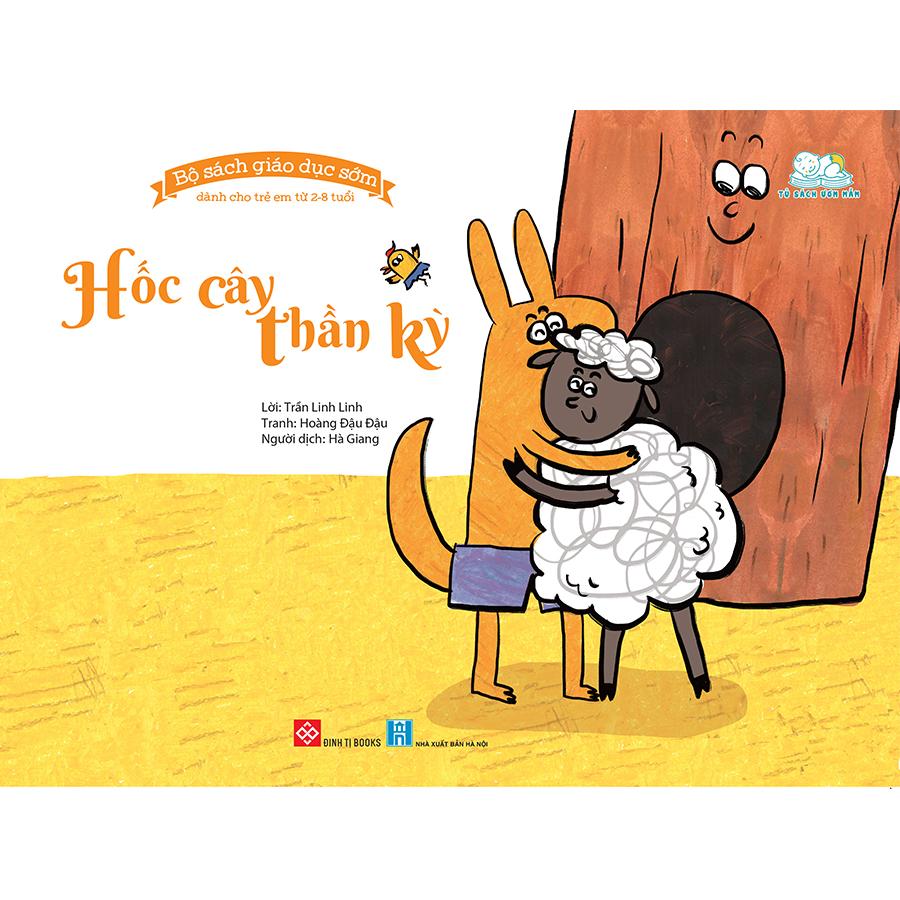 Bộ sách giáo dục sớm dành cho trẻ em 2-8 tuổi - Hốc cây thần kỳ
