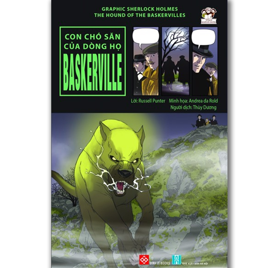 Graphic Sherlock Holmes - The hound of the Baskervilles - Con chó săn của dòng họ Baskerville