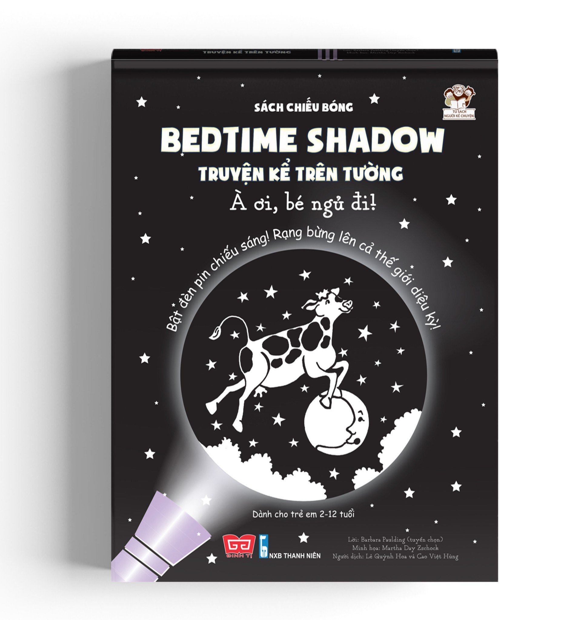 Sách chiếu bóng - Bedtime shadow – Truyện kể trên tường - À ơi, bé ngủ đi!