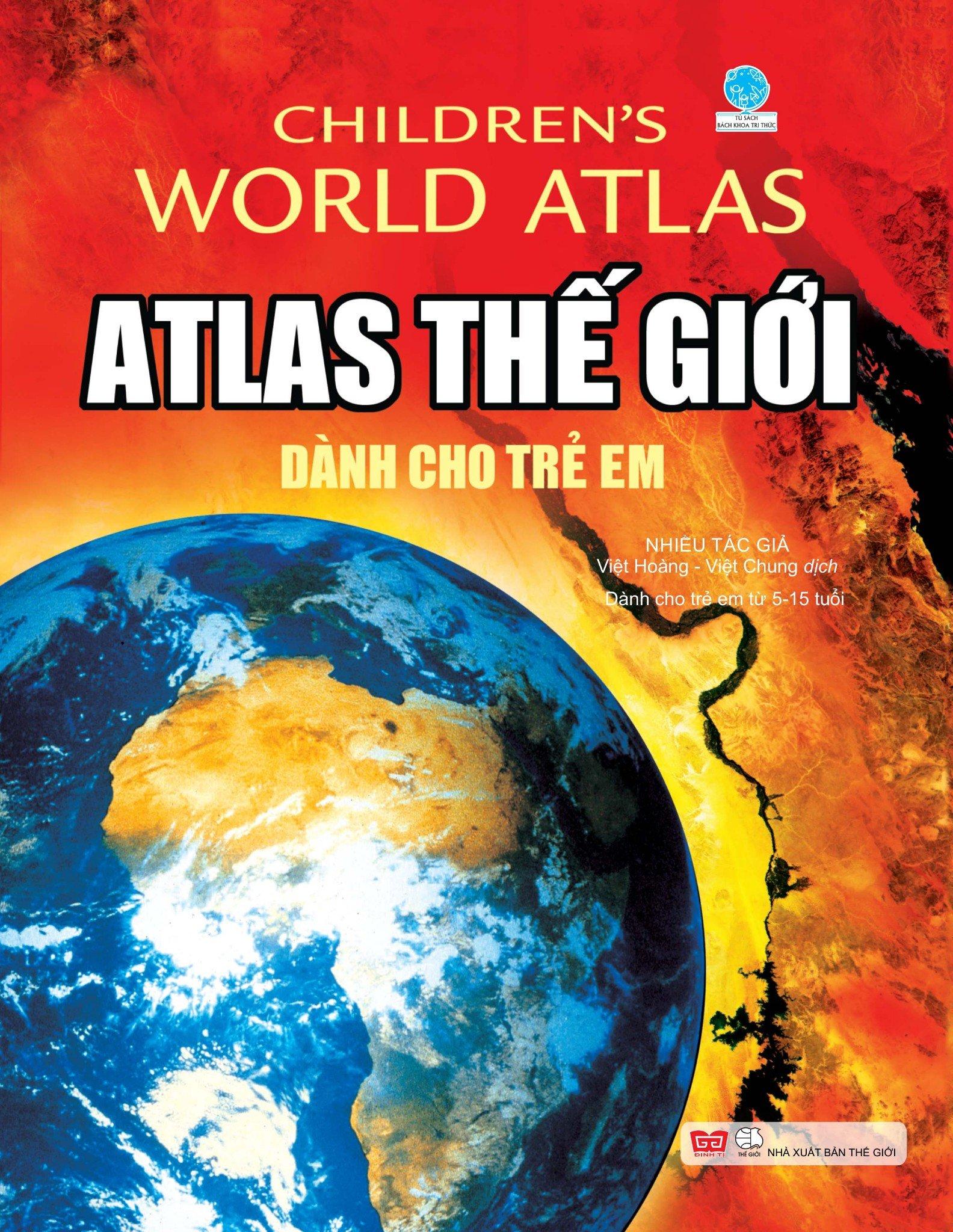 Atlas th.giới dành cho trẻ em (Tái bản 2018)